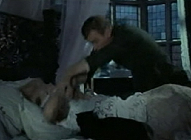 Waltz of the Toreadors - Lt. Finch falling across bed and knocking off black cat