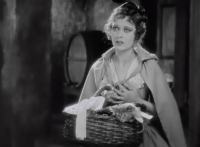 When a Man Loves - tabby kitten Fifi in Manon Dolores Costello basket