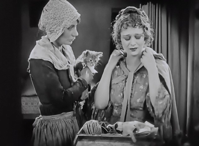 When a Man Loves - tabby kitten Fifi with Manon Dolores Costello