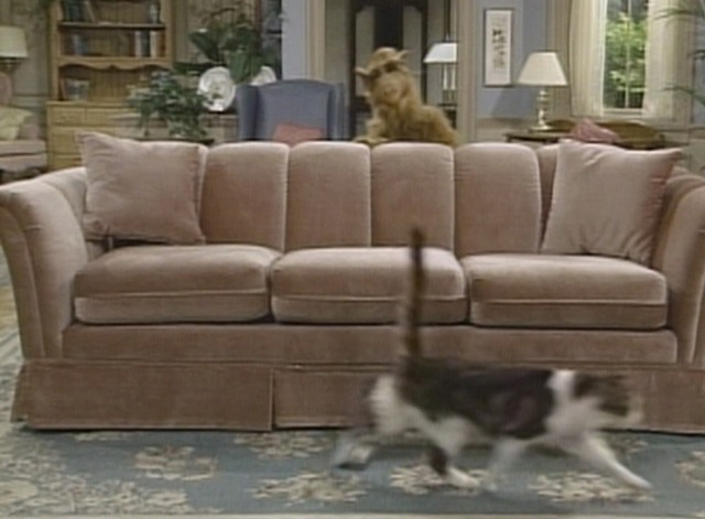 Alf - Pilot episode Lucky cat scurries past couch
