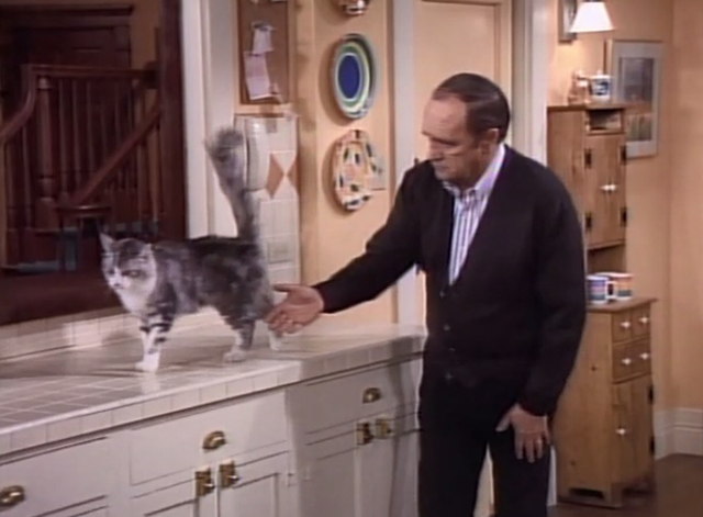 Bob - Stone in Love - Bob Newhart trying to get cat Otto to shake hands