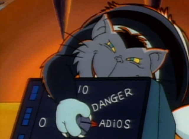 Inspector Gadget - Gadget in Winterland - M.A.D. Cat turning dial
