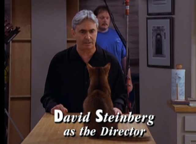 Mad About You - There's a Puma in the Kitchen - David Steinberg director criticizing cat actor on table