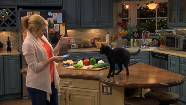 Melissa and Joey - Witch Came First - Melissa tries spell on black cat