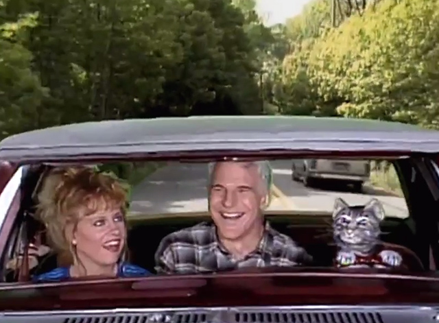 Saturday Night Live - Toonces the Driving Cat - Toonces the Driving Cat puppet cat driving Steve Martin and Victoria Jackson