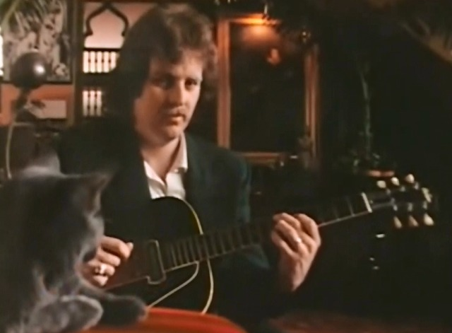 Reminiscing - Little River Band video with cat in foreground