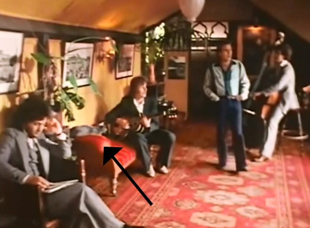 Reminiscing - Little River Band video with cat on couch